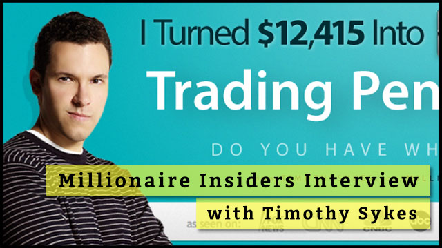 Doubling Your Sales By Timothy Sykes