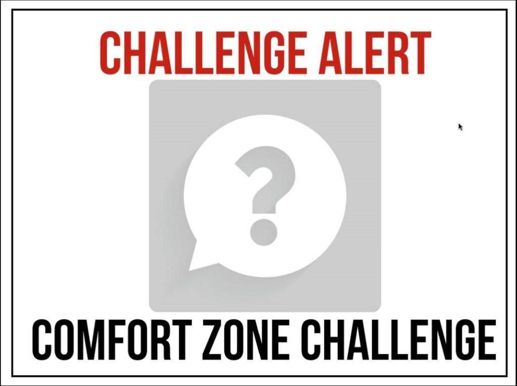 Comfort Zone Challenge Image