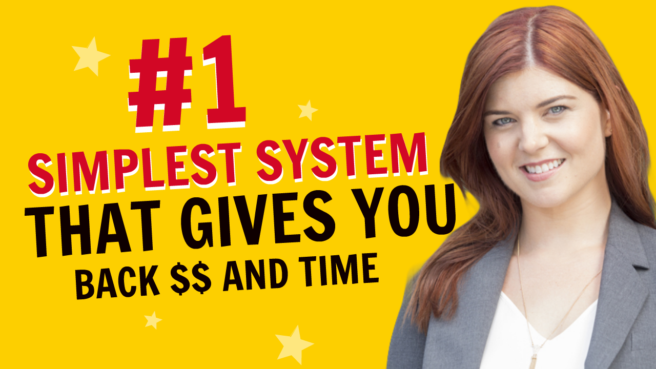 The #1 Simplest System That Gives You Back $$ and Time