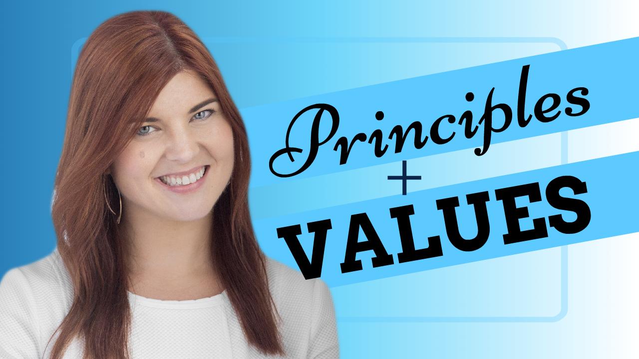 Principles + Values