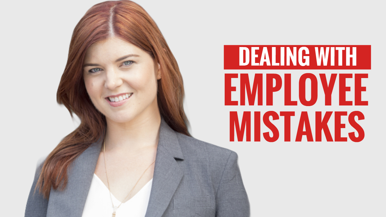 Dealing with Employee Mistakes